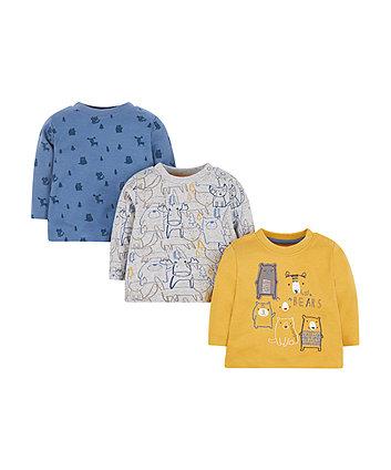 Bear T-Shirts - 3 Pack