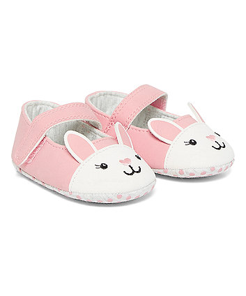 Bunny Ballerina Pram Shoes