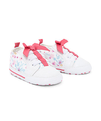 Floral Bow Canvas Shoes