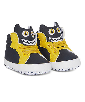 Monster Hi-Top Trainers