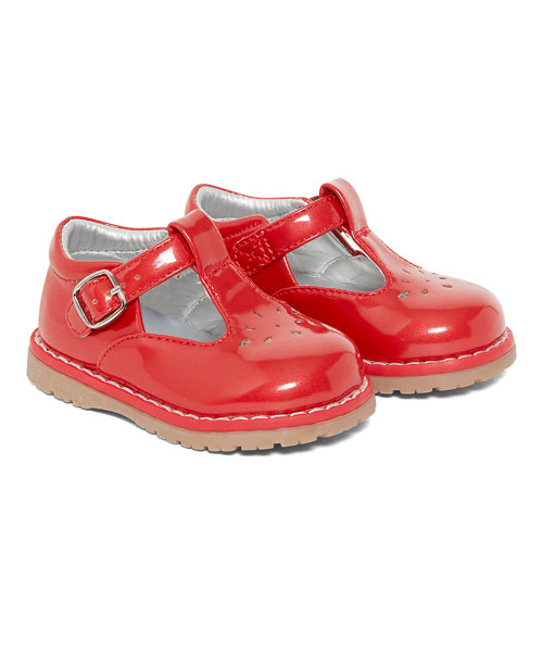 Red T-Bar Shoes