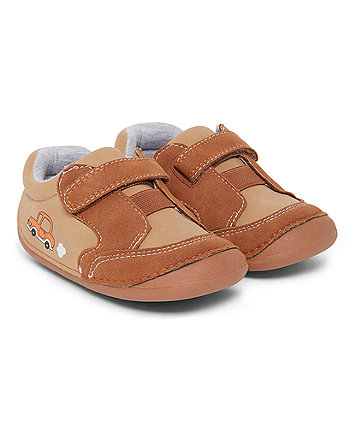 Brown Crawler Shoes