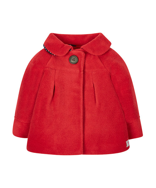 Red Fleece Jacket