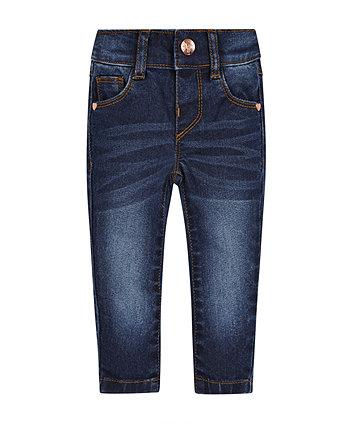 Dark Wash Skinny Jeans -(3-4 years)