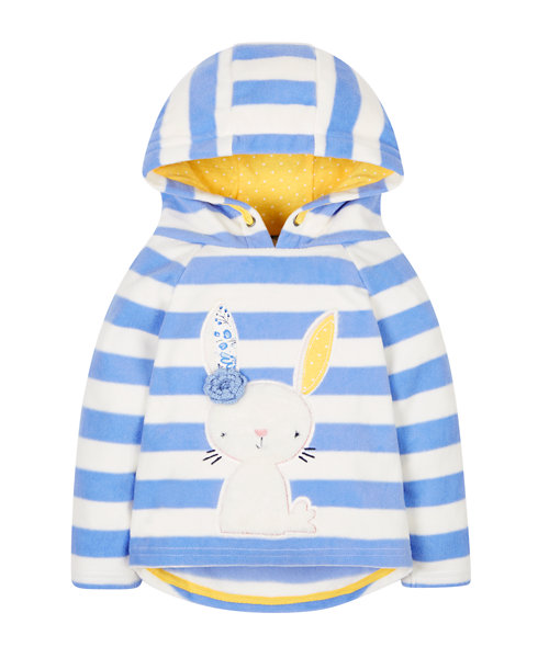 Bunny Hooded Fleece