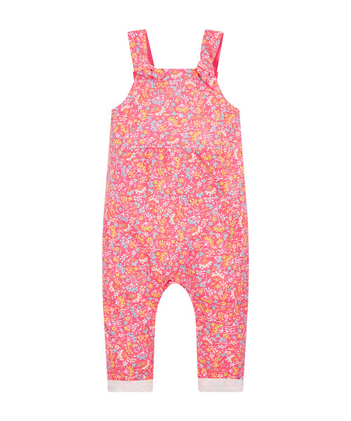 Floral Jersey Dungarees