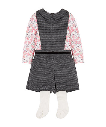 T-Shirt And Playsuit Set