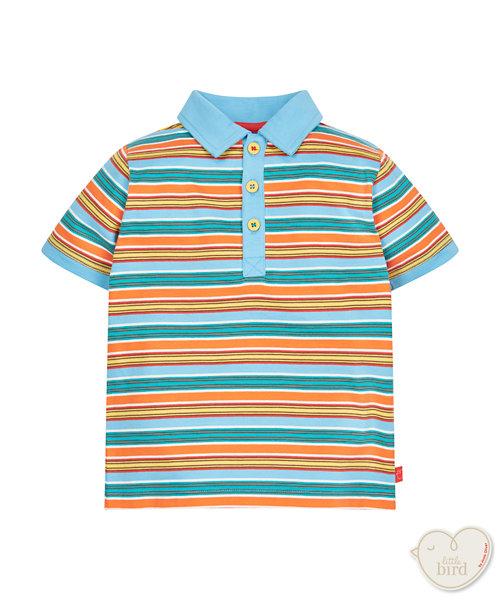 Little Bird By Jools Stripe Polo Shirt