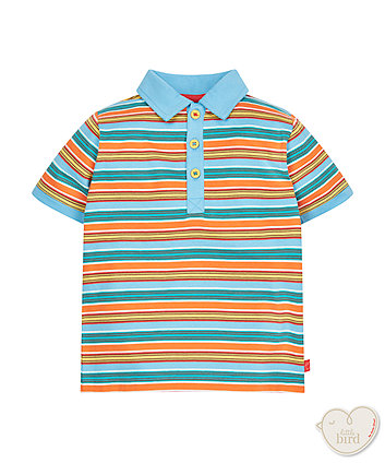 Little Bird By Jools Stripe Polo Shirt