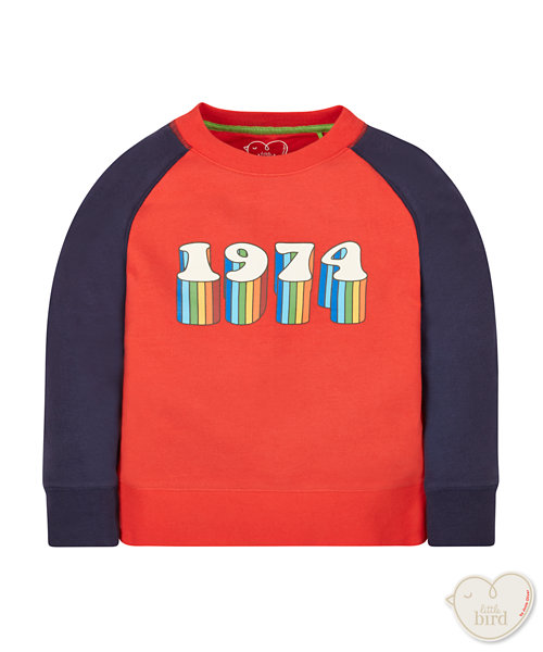 Little Bird By Jools 1974 Sweatshirt