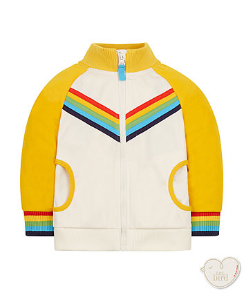 Little Bird By Jools Rainbow Tricot Jacket