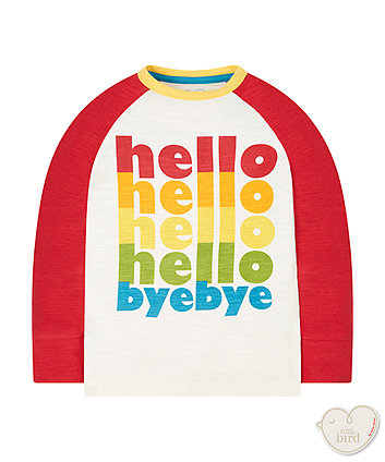 Little Bird By Jools Hello Bye Bye T-Shirt