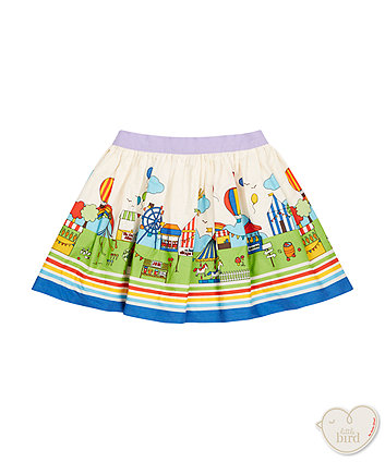 Little Bird By Jools Fete Scene Skirt