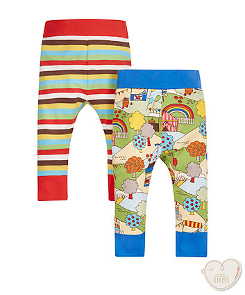 Little Bird Fete Leggings - 2 Pack