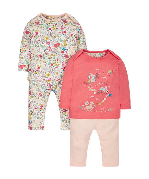 Woodland Pyjamas 2 Pack