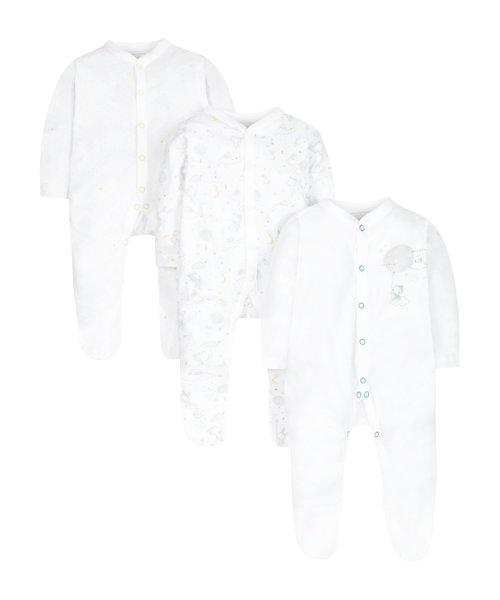 Twinkle Twinkle Sleepsuits - 3 Pack