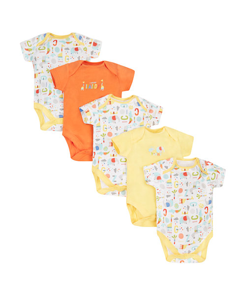 Mummy And Daddy Bodysuits - 5 Pack