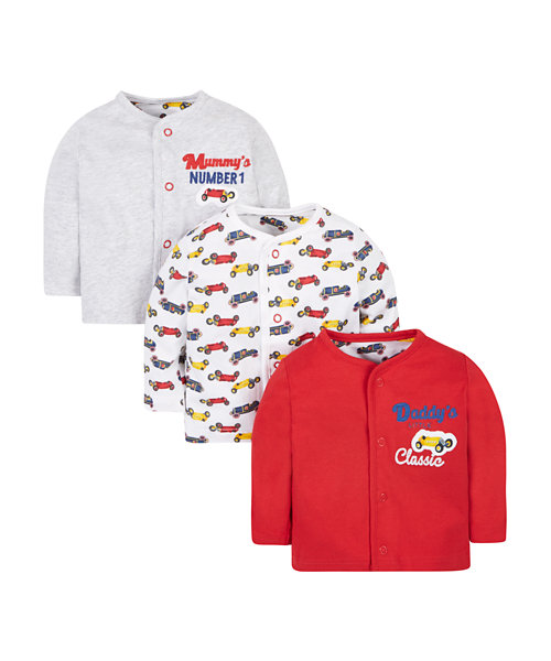 Mummy And Daddy Tops - 3 Pack