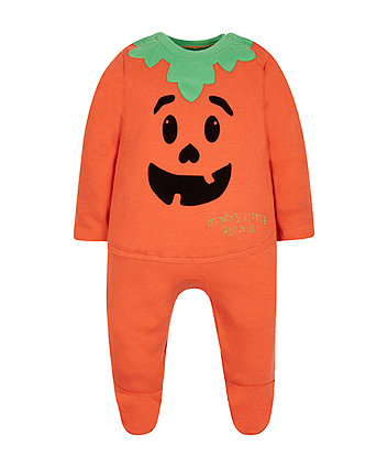 Dress Up Pumpkin All In One