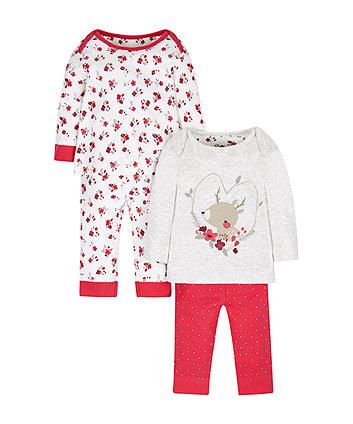 Winter Berry Pyjamas - 2 Pack
