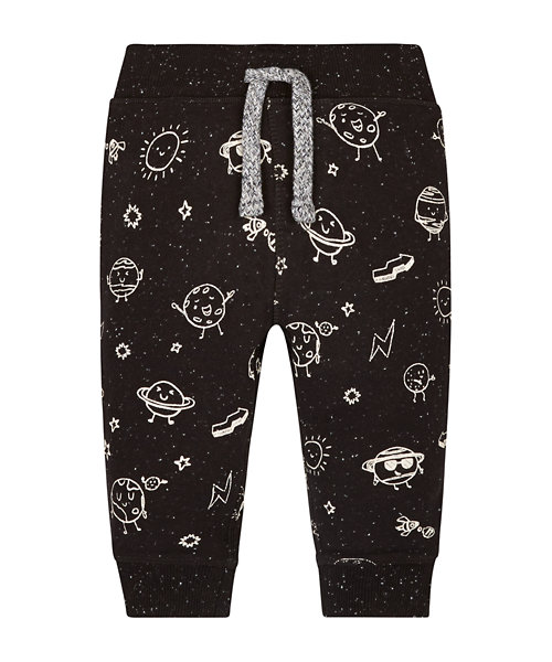 Black Planet Ribwaist Joggers