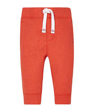 Red Marl Joggers
