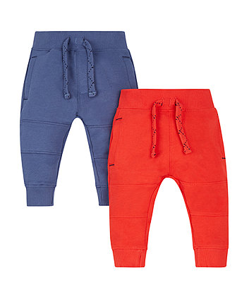 Red And Blue Joggers - 2 Pack