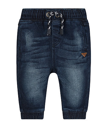 Cuffed Jogger Jeans