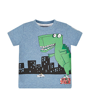 Skating Dinosaur T-Shirt