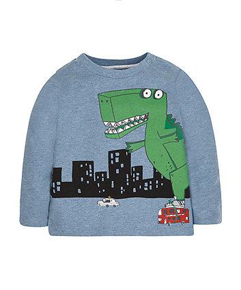 Skating Dinosaur T-Shirt