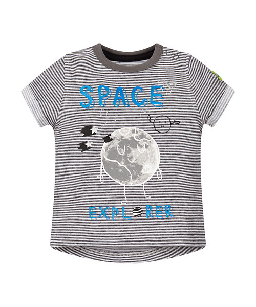 Striped Space Explorer T-Shirt