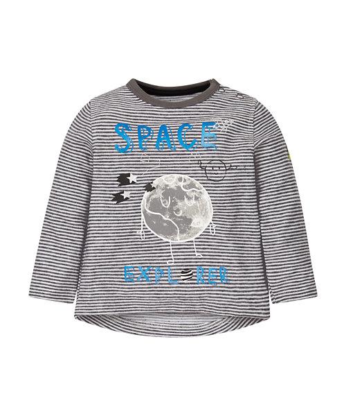 Striped Space Explorer T-Shirt
