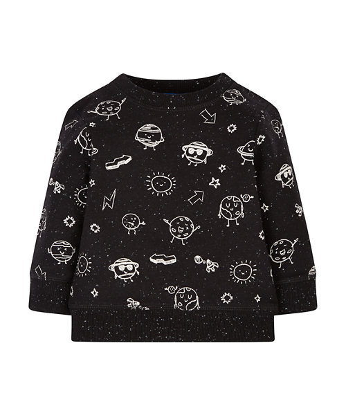 Planets Crew Neck Jumper