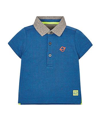 Atomic Blue Polo Shirt