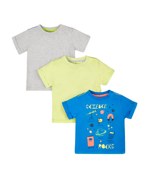 Science Rocks T-Shirts - 3 Pack