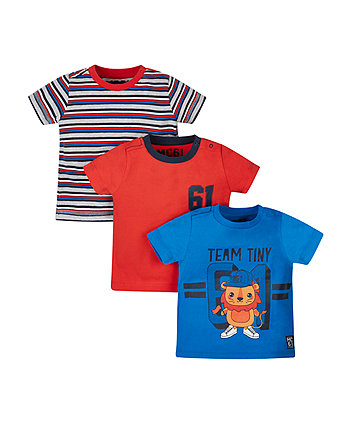Team Tiny T-Shirts - 3 Pack