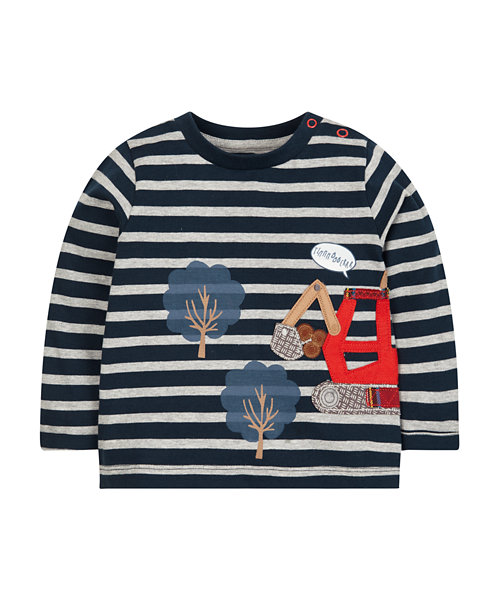 Stripe Tractor T-Shirt