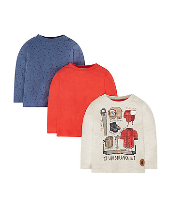 Lumberjack T-Shirts - 3 Pack