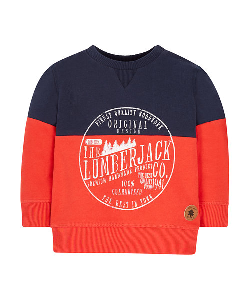 Lumberjack Sweat Top