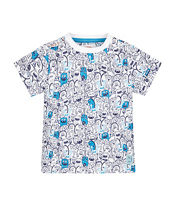 Monster Print T-Shirt