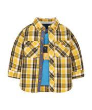 Check Shirt And T-Shirt Set