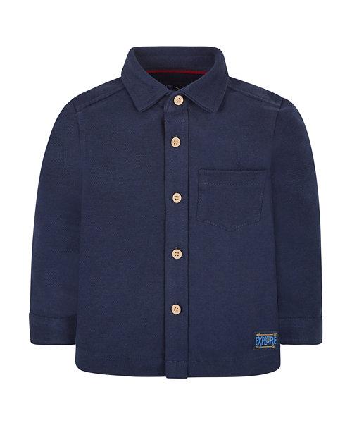 Navy Pique Shirt