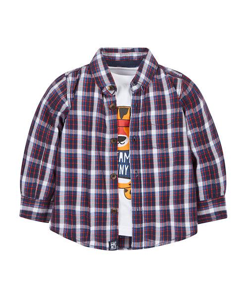 Tiger T-Shirt And Shirt Set