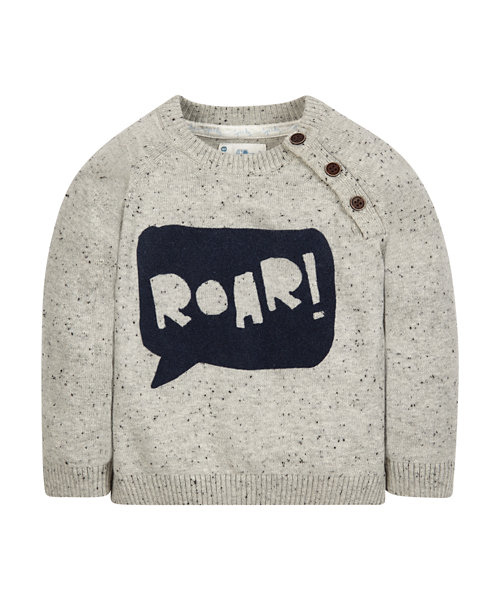 Roar Crew Neck Jumper