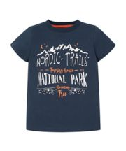Blue Nordic Trails T-Shirt