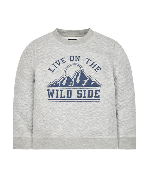 Wild Side Sweat Top