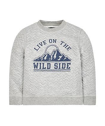 Wild Side Sweat Top