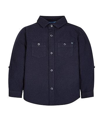 Indigo Dobby Shirt