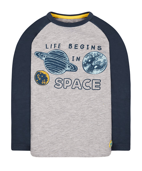 Life Begins In Space T-Shirt