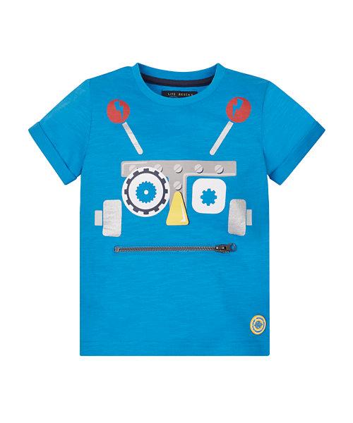 Robot Face T-Shirt